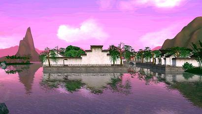 江南木渎小镇的写意风景