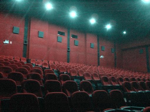 无人的电影院